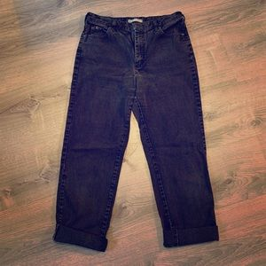 VINTAGE Lee Jeans - Super Soft Black Wash